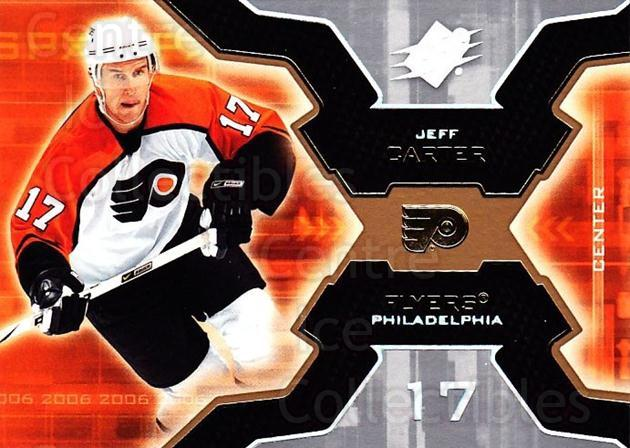 2006-07 SPx #74 Jeff Carter<br/>6 In Stock - $1.00 each - <a href=https://centericecollectibles.foxycart.com/cart?name=2006-07%20SPx%20%2374%20Jeff%20Carter...&quantity_max=6&price=$1.00&code=132998 class=foxycart> Buy it now! </a>