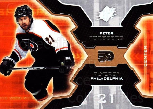 2006-07 SPx #75 Peter Forsberg<br/>4 In Stock - $1.00 each - <a href=https://centericecollectibles.foxycart.com/cart?name=2006-07%20SPx%20%2375%20Peter%20Forsberg...&quantity_max=4&price=$1.00&code=132999 class=foxycart> Buy it now! </a>