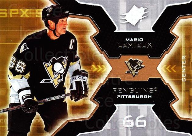 2006-07 SPx #83 Mario Lemieux<br/>1 In Stock - $3.00 each - <a href=https://centericecollectibles.foxycart.com/cart?name=2006-07%20SPx%20%2383%20Mario%20Lemieux...&quantity_max=1&price=$3.00&code=133006 class=foxycart> Buy it now! </a>