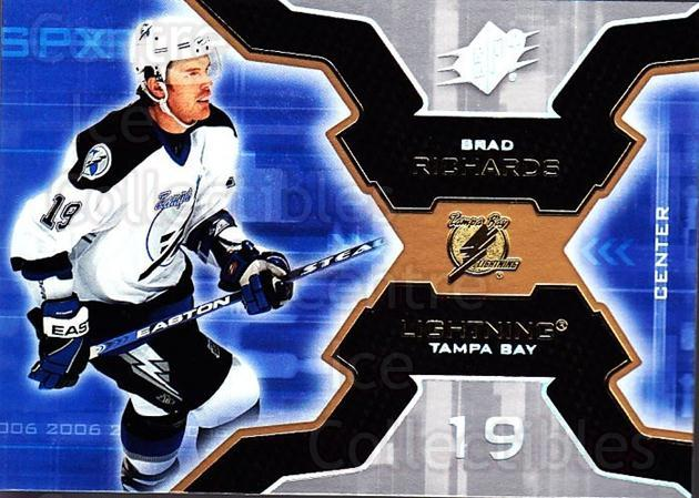 2006-07 SPx #89 Brad Richards<br/>6 In Stock - $1.00 each - <a href=https://centericecollectibles.foxycart.com/cart?name=2006-07%20SPx%20%2389%20Brad%20Richards...&quantity_max=6&price=$1.00&code=133012 class=foxycart> Buy it now! </a>