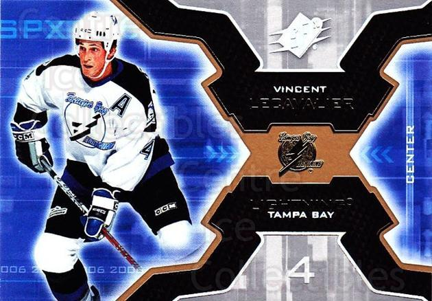 2006-07 SPx #90 Vincent Lecavalier<br/>6 In Stock - $1.00 each - <a href=https://centericecollectibles.foxycart.com/cart?name=2006-07%20SPx%20%2390%20Vincent%20Lecaval...&quantity_max=6&price=$1.00&code=133014 class=foxycart> Buy it now! </a>