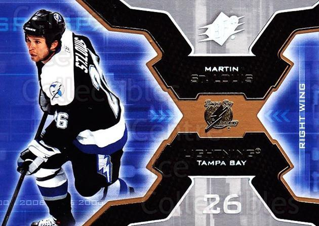 2006-07 SPx #91 Martin St. Louis<br/>6 In Stock - $1.00 each - <a href=https://centericecollectibles.foxycart.com/cart?name=2006-07%20SPx%20%2391%20Martin%20St.%20Loui...&quantity_max=6&price=$1.00&code=133015 class=foxycart> Buy it now! </a>