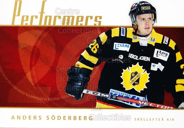 2006-07 Swedish Elitset Performers #16 Anders Soderberg<br/>4 In Stock - $3.00 each - <a href=https://centericecollectibles.foxycart.com/cart?name=2006-07%20Swedish%20Elitset%20Performers%20%2316%20Anders%20Soderber...&quantity_max=4&price=$3.00&code=133040 class=foxycart> Buy it now! </a>