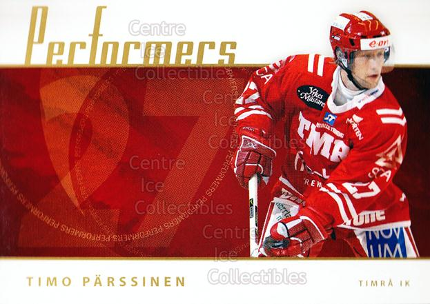 2006-07 Swedish Elitset Performers #17 Timo Parssinen<br/>3 In Stock - $3.00 each - <a href=https://centericecollectibles.foxycart.com/cart?name=2006-07%20Swedish%20Elitset%20Performers%20%2317%20Timo%20Parssinen...&quantity_max=3&price=$3.00&code=133041 class=foxycart> Buy it now! </a>