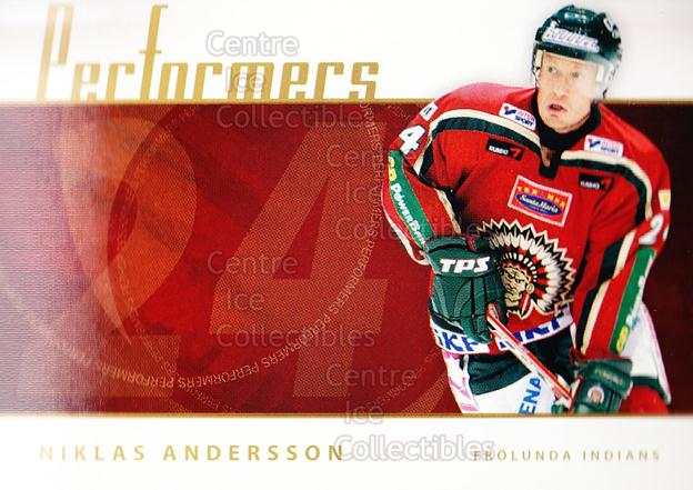 2006-07 Swedish Elitset Performers #3 Niklas Andersson<br/>4 In Stock - $3.00 each - <a href=https://centericecollectibles.foxycart.com/cart?name=2006-07%20Swedish%20Elitset%20Performers%20%233%20Niklas%20Andersso...&price=$3.00&code=133044 class=foxycart> Buy it now! </a>