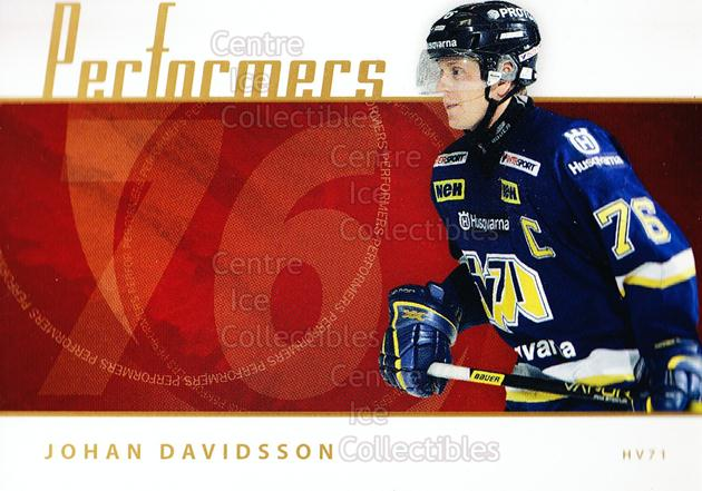 2006-07 Swedish Elitset Performers #7 Johan Davidsson<br/>2 In Stock - $3.00 each - <a href=https://centericecollectibles.foxycart.com/cart?name=2006-07%20Swedish%20Elitset%20Performers%20%237%20Johan%20Davidsson...&price=$3.00&code=133047 class=foxycart> Buy it now! </a>