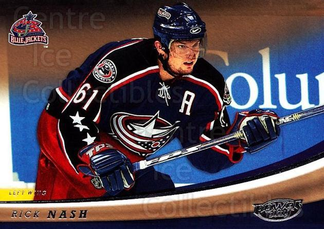 2006-07 UD Power Play #29 Rick Nash<br/>5 In Stock - $1.00 each - <a href=https://centericecollectibles.foxycart.com/cart?name=2006-07%20UD%20Power%20Play%20%2329%20Rick%20Nash...&quantity_max=5&price=$1.00&code=133279 class=foxycart> Buy it now! </a>