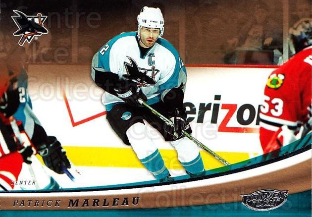 2006-07 UD Power Play #84 Patrick Marleau<br/>5 In Stock - $1.00 each - <a href=https://centericecollectibles.foxycart.com/cart?name=2006-07%20UD%20Power%20Play%20%2384%20Patrick%20Marleau...&quantity_max=5&price=$1.00&code=133338 class=foxycart> Buy it now! </a>