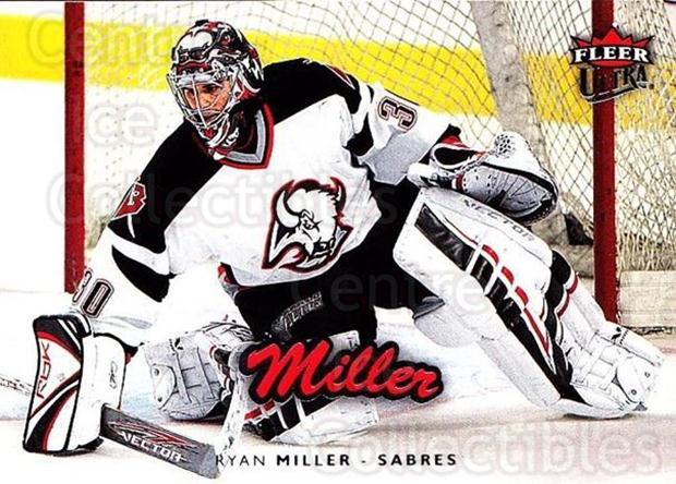 2006-07 Ultra #22 Ryan Miller<br/>4 In Stock - $1.00 each - <a href=https://centericecollectibles.foxycart.com/cart?name=2006-07%20Ultra%20%2322%20Ryan%20Miller...&quantity_max=4&price=$1.00&code=133480 class=foxycart> Buy it now! </a>