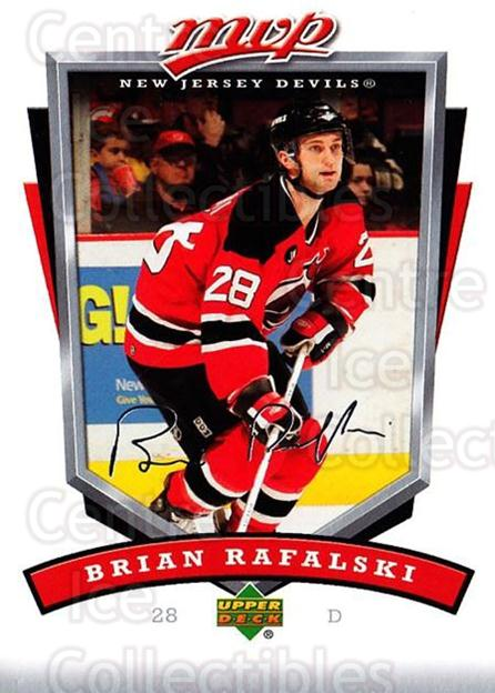 2006-07 Upper Deck MVP #175 Brian Rafalski<br/>4 In Stock - $1.00 each - <a href=https://centericecollectibles.foxycart.com/cart?name=2006-07%20Upper%20Deck%20MVP%20%23175%20Brian%20Rafalski...&quantity_max=4&price=$1.00&code=133510 class=foxycart> Buy it now! </a>
