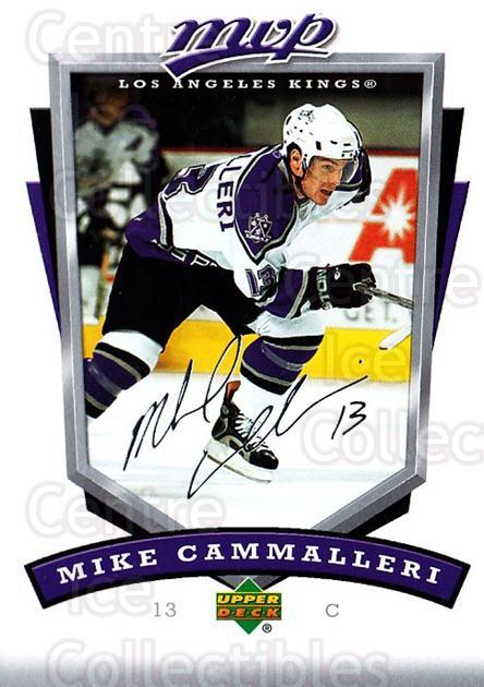 2006-07 Upper Deck MVP #134 Mike Cammalleri<br/>5 In Stock - $1.00 each - <a href=https://centericecollectibles.foxycart.com/cart?name=2006-07%20Upper%20Deck%20MVP%20%23134%20Mike%20Cammalleri...&quantity_max=5&price=$1.00&code=133554 class=foxycart> Buy it now! </a>