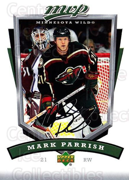 2006-07 Upper Deck MVP #142 Mark Parrish<br/>5 In Stock - $1.00 each - <a href=https://centericecollectibles.foxycart.com/cart?name=2006-07%20Upper%20Deck%20MVP%20%23142%20Mark%20Parrish...&quantity_max=5&price=$1.00&code=133563 class=foxycart> Buy it now! </a>