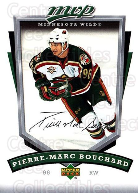 2006-07 Upper Deck MVP #143 Pierre-Marc Bouchard<br/>5 In Stock - $1.00 each - <a href=https://centericecollectibles.foxycart.com/cart?name=2006-07%20Upper%20Deck%20MVP%20%23143%20Pierre-Marc%20Bou...&quantity_max=5&price=$1.00&code=133564 class=foxycart> Buy it now! </a>