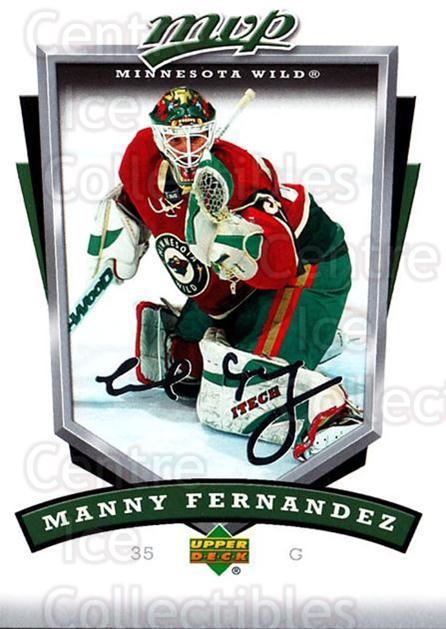 2006-07 Upper Deck MVP #147 Manny Fernandez<br/>5 In Stock - $1.00 each - <a href=https://centericecollectibles.foxycart.com/cart?name=2006-07%20Upper%20Deck%20MVP%20%23147%20Manny%20Fernandez...&quantity_max=5&price=$1.00&code=133568 class=foxycart> Buy it now! </a>