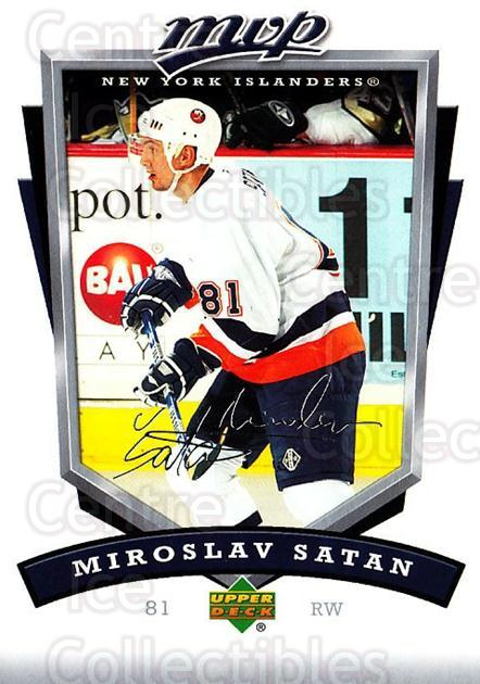 2006-07 Upper Deck MVP #181 Miroslav Satan<br/>5 In Stock - $1.00 each - <a href=https://centericecollectibles.foxycart.com/cart?name=2006-07%20Upper%20Deck%20MVP%20%23181%20Miroslav%20Satan...&quantity_max=5&price=$1.00&code=133596 class=foxycart> Buy it now! </a>