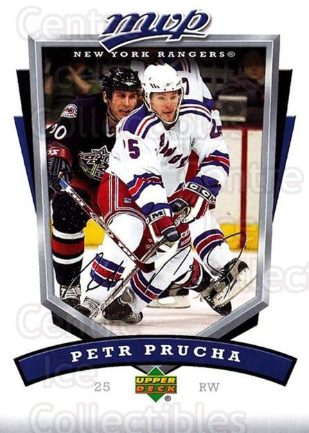 2006-07 Upper Deck MVP #195 Petr Prucha<br/>5 In Stock - $1.00 each - <a href=https://centericecollectibles.foxycart.com/cart?name=2006-07%20Upper%20Deck%20MVP%20%23195%20Petr%20Prucha...&quantity_max=5&price=$1.00&code=133611 class=foxycart> Buy it now! </a>