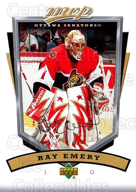 2006-07 Upper Deck MVP #202 Ray Emery<br/>5 In Stock - $1.00 each - <a href=https://centericecollectibles.foxycart.com/cart?name=2006-07%20Upper%20Deck%20MVP%20%23202%20Ray%20Emery...&quantity_max=5&price=$1.00&code=133620 class=foxycart> Buy it now! </a>