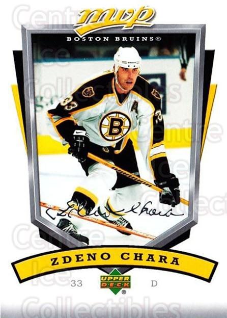 2006-07 Upper Deck MVP #22 Zdeno Chara<br/>5 In Stock - $1.00 each - <a href=https://centericecollectibles.foxycart.com/cart?name=2006-07%20Upper%20Deck%20MVP%20%2322%20Zdeno%20Chara...&quantity_max=5&price=$1.00&code=133639 class=foxycart> Buy it now! </a>