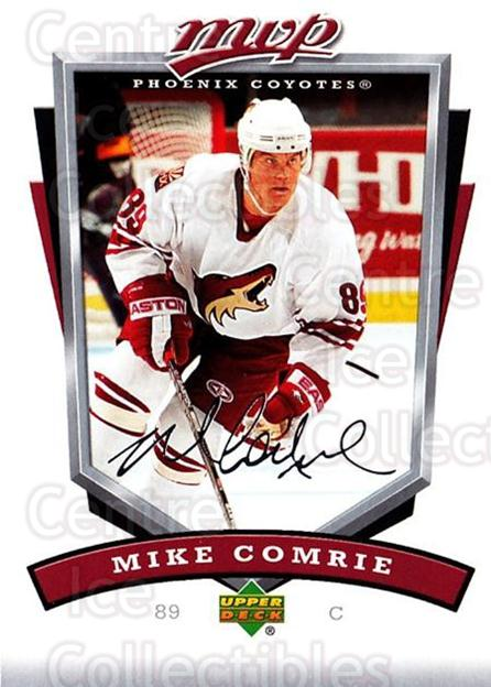 2006-07 Upper Deck MVP #228 Mike Comrie<br/>5 In Stock - $1.00 each - <a href=https://centericecollectibles.foxycart.com/cart?name=2006-07%20Upper%20Deck%20MVP%20%23228%20Mike%20Comrie...&quantity_max=5&price=$1.00&code=133648 class=foxycart> Buy it now! </a>