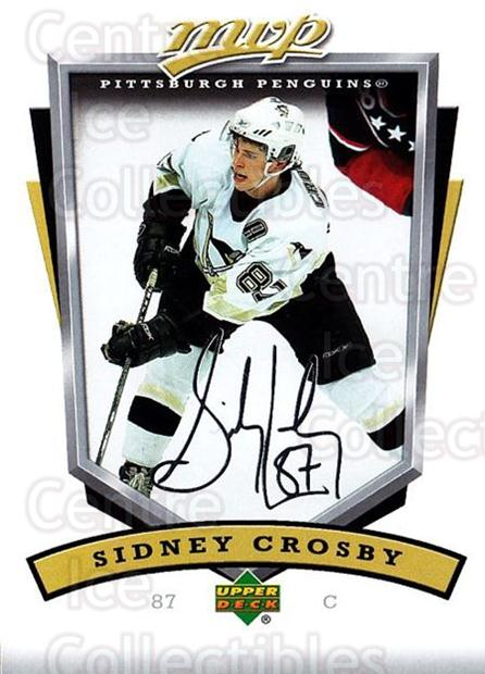 2006-07 Upper Deck MVP #231 Sidney Crosby<br/>2 In Stock - $3.00 each - <a href=https://centericecollectibles.foxycart.com/cart?name=2006-07%20Upper%20Deck%20MVP%20%23231%20Sidney%20Crosby...&price=$3.00&code=133652 class=foxycart> Buy it now! </a>