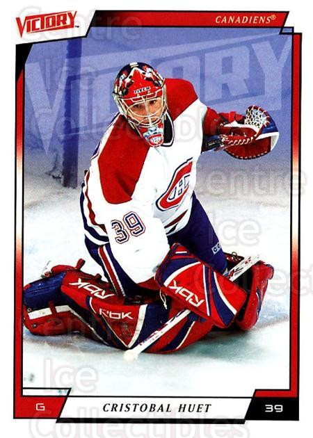 2006-07 UD Victory #108 Cristobal Huet<br/>3 In Stock - $1.00 each - <a href=https://centericecollectibles.foxycart.com/cart?name=2006-07%20UD%20Victory%20%23108%20Cristobal%20Huet...&quantity_max=3&price=$1.00&code=133789 class=foxycart> Buy it now! </a>