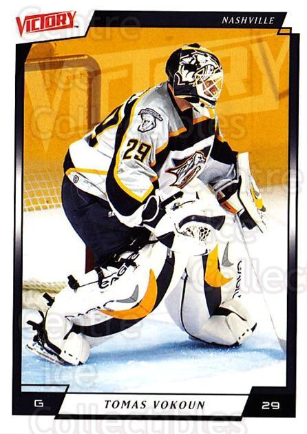 2006-07 UD Victory #110 Tomas Vokoun<br/>4 In Stock - $1.00 each - <a href=https://centericecollectibles.foxycart.com/cart?name=2006-07%20UD%20Victory%20%23110%20Tomas%20Vokoun...&quantity_max=4&price=$1.00&code=133792 class=foxycart> Buy it now! </a>