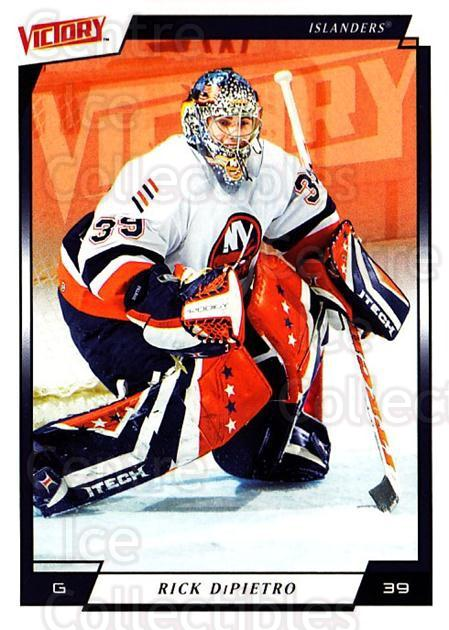 2006-07 UD Victory #123 Rick DiPietro<br/>5 In Stock - $1.00 each - <a href=https://centericecollectibles.foxycart.com/cart?name=2006-07%20UD%20Victory%20%23123%20Rick%20DiPietro...&quantity_max=5&price=$1.00&code=133806 class=foxycart> Buy it now! </a>