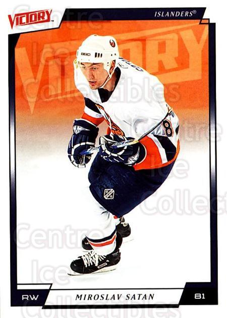 2006-07 UD Victory #124 Miroslav Satan<br/>5 In Stock - $1.00 each - <a href=https://centericecollectibles.foxycart.com/cart?name=2006-07%20UD%20Victory%20%23124%20Miroslav%20Satan...&quantity_max=5&price=$1.00&code=133807 class=foxycart> Buy it now! </a>