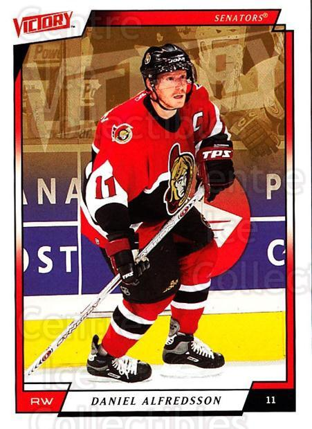2006-07 UD Victory #138 Daniel Alfredsson<br/>5 In Stock - $1.00 each - <a href=https://centericecollectibles.foxycart.com/cart?name=2006-07%20UD%20Victory%20%23138%20Daniel%20Alfredss...&quantity_max=5&price=$1.00&code=133822 class=foxycart> Buy it now! </a>