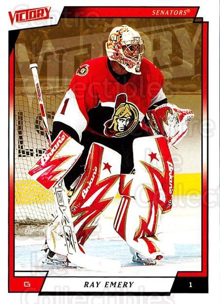 2006-07 UD Victory #142 Ray Emery<br/>3 In Stock - $1.00 each - <a href=https://centericecollectibles.foxycart.com/cart?name=2006-07%20UD%20Victory%20%23142%20Ray%20Emery...&quantity_max=3&price=$1.00&code=133827 class=foxycart> Buy it now! </a>