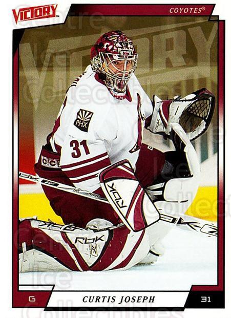 2006-07 UD Victory #152 Curtis Joseph<br/>5 In Stock - $2.00 each - <a href=https://centericecollectibles.foxycart.com/cart?name=2006-07%20UD%20Victory%20%23152%20Curtis%20Joseph...&quantity_max=5&price=$2.00&code=133838 class=foxycart> Buy it now! </a>
