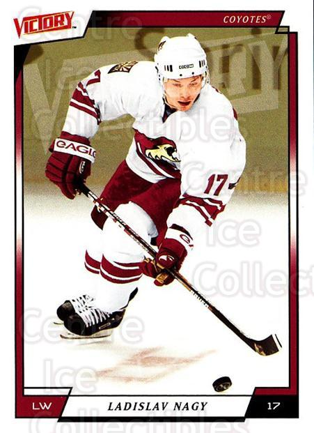 2006-07 UD Victory #153 Ladislav Nagy<br/>3 In Stock - $1.00 each - <a href=https://centericecollectibles.foxycart.com/cart?name=2006-07%20UD%20Victory%20%23153%20Ladislav%20Nagy...&quantity_max=3&price=$1.00&code=133839 class=foxycart> Buy it now! </a>