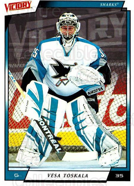 2006-07 UD Victory #167 Vesa Toskala<br/>5 In Stock - $1.00 each - <a href=https://centericecollectibles.foxycart.com/cart?name=2006-07%20UD%20Victory%20%23167%20Vesa%20Toskala...&quantity_max=5&price=$1.00&code=133854 class=foxycart> Buy it now! </a>
