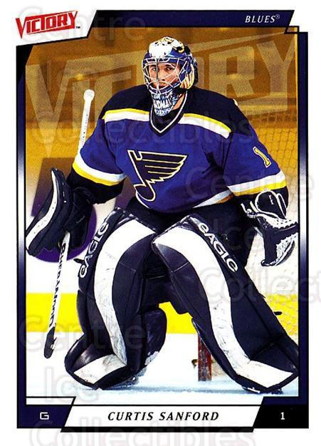 2006-07 UD Victory #169 Curtis Sanford<br/>3 In Stock - $1.00 each - <a href=https://centericecollectibles.foxycart.com/cart?name=2006-07%20UD%20Victory%20%23169%20Curtis%20Sanford...&quantity_max=3&price=$1.00&code=133856 class=foxycart> Buy it now! </a>