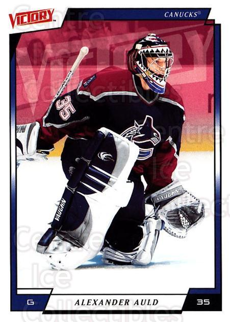 2006-07 UD Victory #191 Alex Auld<br/>4 In Stock - $1.00 each - <a href=https://centericecollectibles.foxycart.com/cart?name=2006-07%20UD%20Victory%20%23191%20Alex%20Auld...&quantity_max=4&price=$1.00&code=133881 class=foxycart> Buy it now! </a>