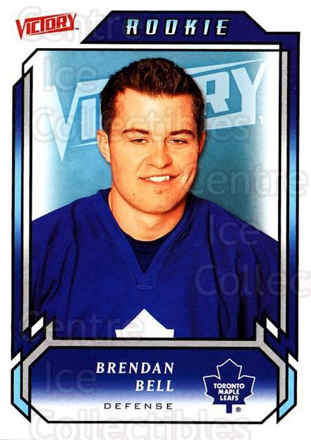 2006-07 UD Victory #208 Brendan Bell<br/>7 In Stock - $2.00 each - <a href=https://centericecollectibles.foxycart.com/cart?name=2006-07%20UD%20Victory%20%23208%20Brendan%20Bell...&quantity_max=7&price=$2.00&code=133900 class=foxycart> Buy it now! </a>