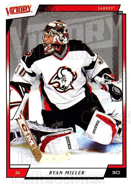 2006-07 UD Victory #21 Ryan Miller<br/>4 In Stock - $1.00 each - <a href=https://centericecollectibles.foxycart.com/cart?name=2006-07%20UD%20Victory%20%2321%20Ryan%20Miller...&quantity_max=4&price=$1.00&code=133902 class=foxycart> Buy it now! </a>