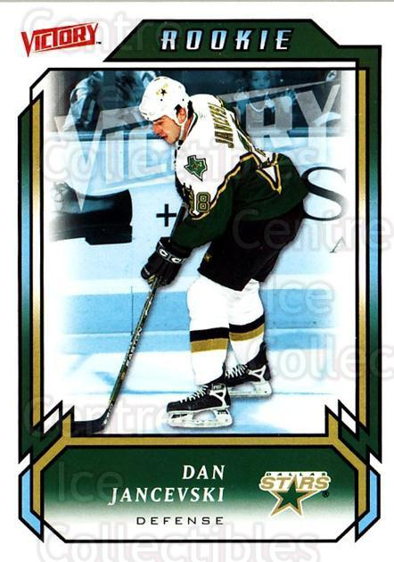 2006-07 UD Victory #214 Dan Jancevski<br/>5 In Stock - $2.00 each - <a href=https://centericecollectibles.foxycart.com/cart?name=2006-07%20UD%20Victory%20%23214%20Dan%20Jancevski...&quantity_max=5&price=$2.00&code=133907 class=foxycart> Buy it now! </a>