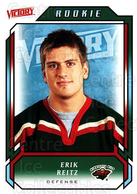 2006-07 UD Victory #224 Erik Reitz<br/>5 In Stock - $2.00 each - <a href=https://centericecollectibles.foxycart.com/cart?name=2006-07%20UD%20Victory%20%23224%20Erik%20Reitz...&quantity_max=5&price=$2.00&code=133918 class=foxycart> Buy it now! </a>
