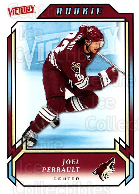 2006-07 UD Victory #225 Joel Perrault<br/>4 In Stock - $2.00 each - <a href=https://centericecollectibles.foxycart.com/cart?name=2006-07%20UD%20Victory%20%23225%20Joel%20Perrault...&quantity_max=4&price=$2.00&code=133919 class=foxycart> Buy it now! </a>