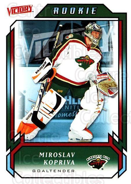 2006-07 UD Victory #229 Miroslav Kopriva<br/>4 In Stock - $2.00 each - <a href=https://centericecollectibles.foxycart.com/cart?name=2006-07%20UD%20Victory%20%23229%20Miroslav%20Kopriv...&quantity_max=4&price=$2.00&code=133923 class=foxycart> Buy it now! </a>