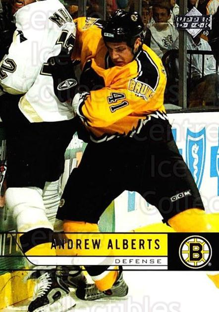 2006-07 Upper Deck #267 Andrew Alberts<br/>4 In Stock - $1.00 each - <a href=https://centericecollectibles.foxycart.com/cart?name=2006-07%20Upper%20Deck%20%23267%20Andrew%20Alberts...&quantity_max=4&price=$1.00&code=133955 class=foxycart> Buy it now! </a>