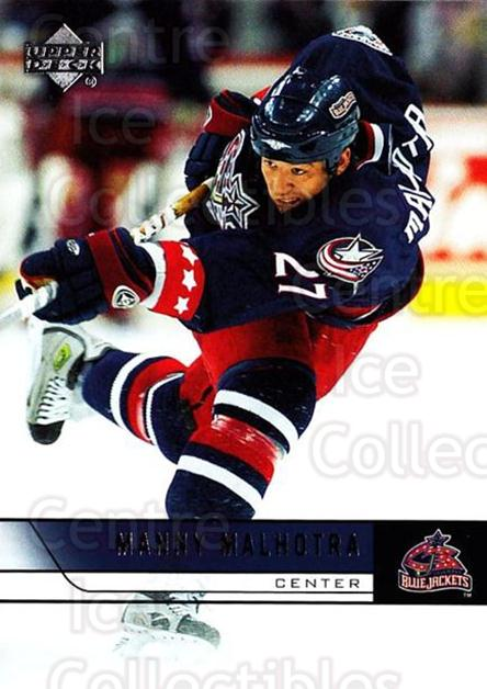 2006-07 Upper Deck #311 Manny Malhotra<br/>6 In Stock - $1.00 each - <a href=https://centericecollectibles.foxycart.com/cart?name=2006-07%20Upper%20Deck%20%23311%20Manny%20Malhotra...&quantity_max=6&price=$1.00&code=133971 class=foxycart> Buy it now! </a>