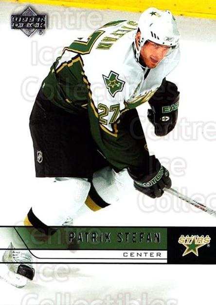 2006-07 Upper Deck #316 Patrik Stefan<br/>2 In Stock - $1.00 each - <a href=https://centericecollectibles.foxycart.com/cart?name=2006-07%20Upper%20Deck%20%23316%20Patrik%20Stefan...&quantity_max=2&price=$1.00&code=133973 class=foxycart> Buy it now! </a>