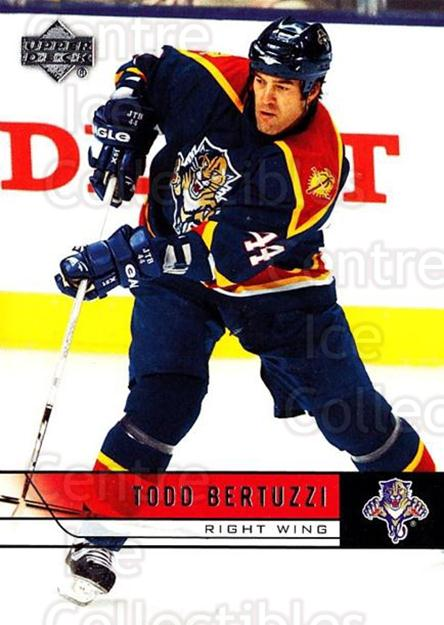 2006-07 Upper Deck #337 Todd Bertuzzi<br/>5 In Stock - $1.00 each - <a href=https://centericecollectibles.foxycart.com/cart?name=2006-07%20Upper%20Deck%20%23337%20Todd%20Bertuzzi...&quantity_max=5&price=$1.00&code=133978 class=foxycart> Buy it now! </a>