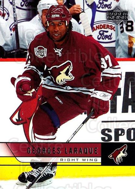 2006-07 Upper Deck #402 Georges Laraque<br/>4 In Stock - $1.00 each - <a href=https://centericecollectibles.foxycart.com/cart?name=2006-07%20Upper%20Deck%20%23402%20Georges%20Laraque...&quantity_max=4&price=$1.00&code=133997 class=foxycart> Buy it now! </a>