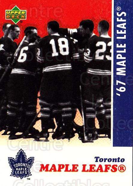 2007 Toronto Maple Leafs 1967 Commemorative #28 Toronto Maple Leafs, Team Photo<br/>1 In Stock - $3.00 each - <a href=https://centericecollectibles.foxycart.com/cart?name=2007%20Toronto%20Maple%20Leafs%201967%20Commemorative%20%2328%20Toronto%20Maple%20L...&price=$3.00&code=134029 class=foxycart> Buy it now! </a>