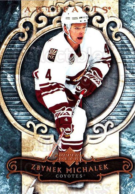 2007-08 UD Artifacts #100 Zbynek Michalek<br/>4 In Stock - $1.00 each - <a href=https://centericecollectibles.foxycart.com/cart?name=2007-08%20UD%20Artifacts%20%23100%20Zbynek%20Michalek...&quantity_max=4&price=$1.00&code=134048 class=foxycart> Buy it now! </a>