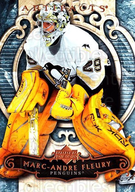 2007-08 UD Artifacts #17 Marc-Andre Fleury<br/>2 In Stock - $2.00 each - <a href=https://centericecollectibles.foxycart.com/cart?name=2007-08%20UD%20Artifacts%20%2317%20Marc-Andre%20Fleu...&quantity_max=2&price=$2.00&code=134055 class=foxycart> Buy it now! </a>