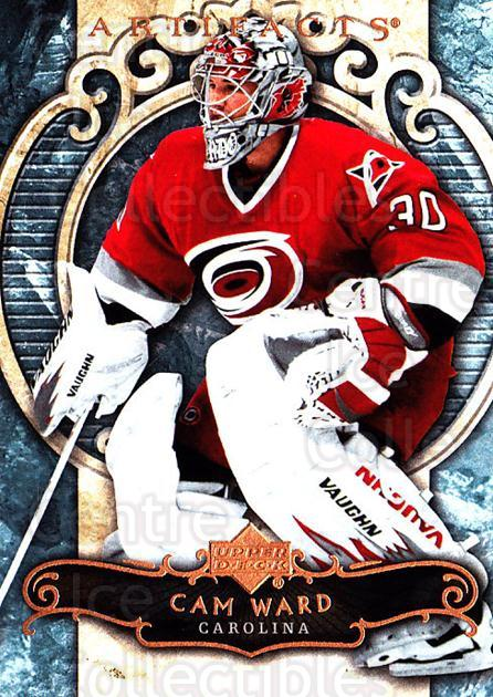 2007-08 UD Artifacts #37 Cam Ward<br/>6 In Stock - $1.00 each - <a href=https://centericecollectibles.foxycart.com/cart?name=2007-08%20UD%20Artifacts%20%2337%20Cam%20Ward...&price=$1.00&code=134077 class=foxycart> Buy it now! </a>